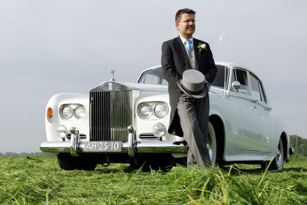 Rolls Royce huren Silver Cloud 3 Wit 1963